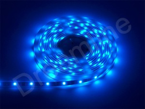 5050 LED Stripes in Blau