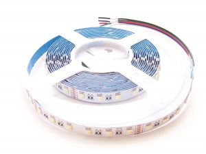 5m RGB WW LED Streifen auf Rolle